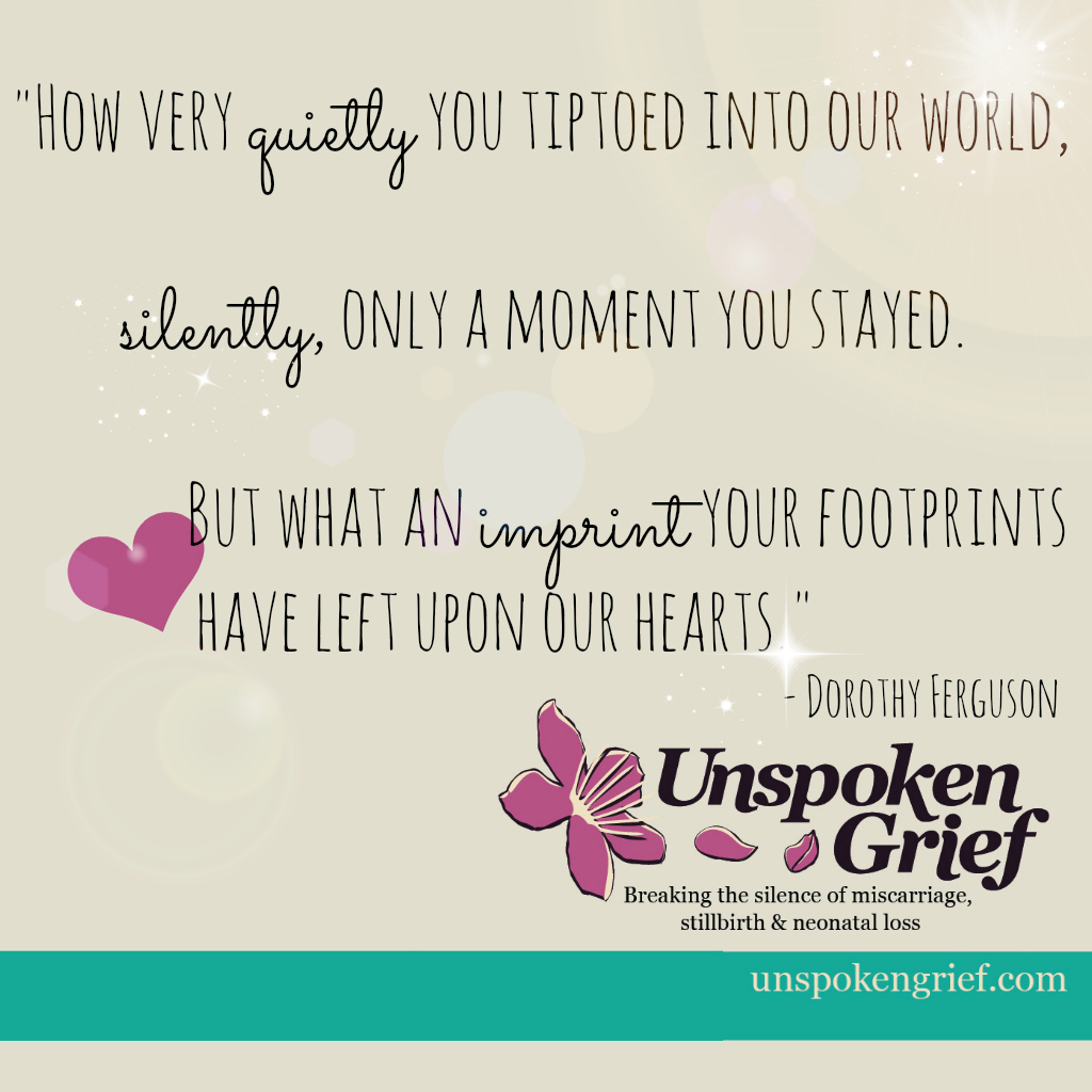 Quotes About Miscarriage Grief Quote How Very Quietly You Tiptoed